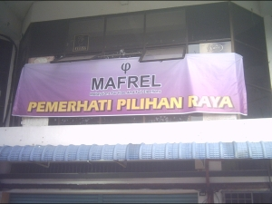 MAFREL's Operation Centre is at 1508 Jalan Arowana, Seberang Jaya.