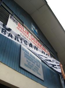Dewan Orang Ramai Cawangan Batu Lima used as UMNO Operation Centre