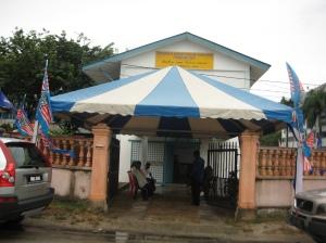 Pertubuhan Khidmat Komuniti Kaum India Permatang Pauh used as MIC Operation Centre