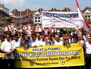 UMNO tak tahu `kesetiaan kepada Raja'-buktinya