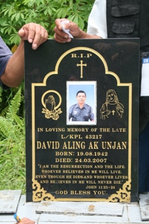 David Aling rest here. Would he want to go to vote on Apr 7th?