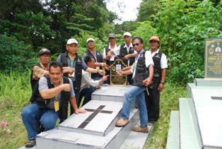 David Aling's graveyard found by Mafrel observers